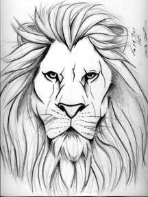 Lion Tattoo Ot Traydaripper Lion Drawing Lion Face Drawing Lion Tattoo During the lesson you will learn how to draw the short body fur, how to draw the long mane hair. lion tattoo ot traydaripper lion