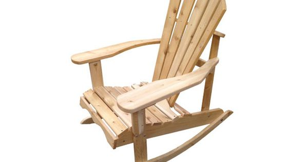 Adirondack rocking chair chaise ber ante adirondack for Chaise adirondack bois