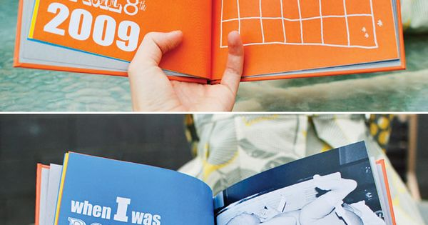Future baby book idea!!! every baby should have a book like this.