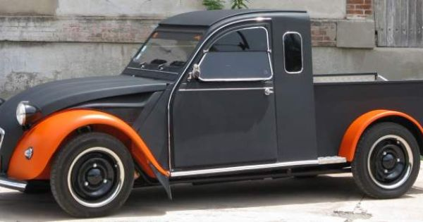 2cv pick up custom voitures gard citroen pickup pinterest bilar och inspiration. Black Bedroom Furniture Sets. Home Design Ideas