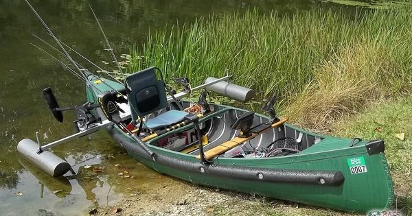 Canoe modifications i do not think i need a bolted on for Fishing kayak mods