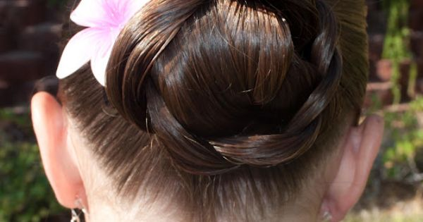 Braid Roll, looks like a pretty easy hairstyle