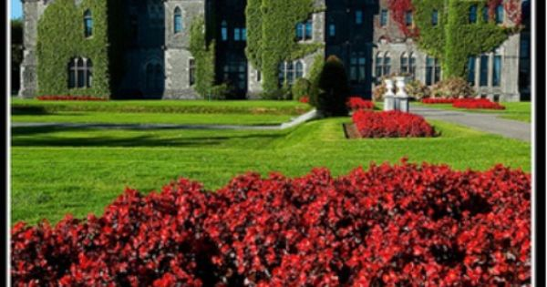 Billingsly inspiration - Ashford Castle, Ireland. Ashford Castle is a medieval castle