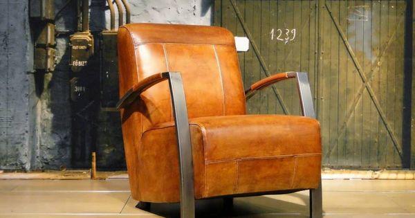 Vintage fauteuil en andere leren fauteuils vindt u bij ons. - ROBUUSTE ...