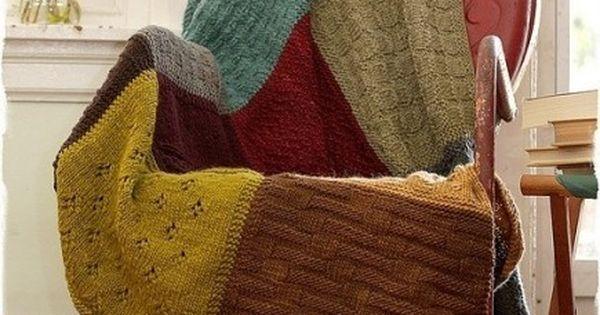 Manta de lana con jerseys reciclados reciclar ropa - Reciclar restos de lana ...
