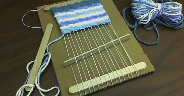 popsicle stick loom. I have used many weaving looms before. This looks