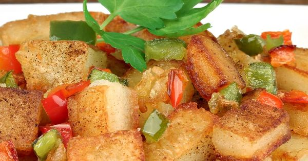 Quick and Easy Home Fries #Recipe | Breaking the FAST ...
