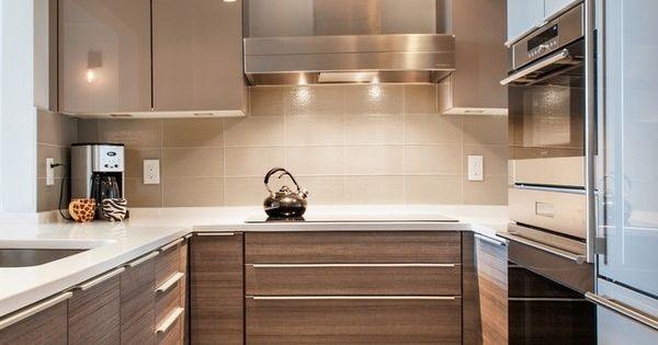U shaped kitchen design ideas small kitchen design modern for Modern u shaped kitchen designs