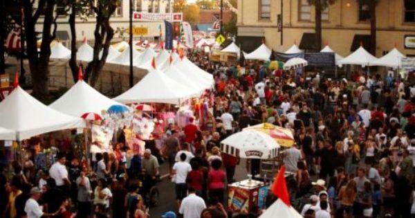 Old Town Orange Street Fair California Dreamin Beach Fun Street Fair