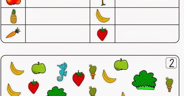 Strichlisten und die Fu00fcnferbu00fcndelung : Math, Worksheets and Kindergarten