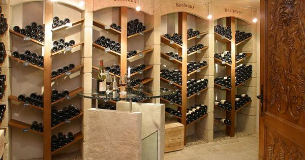 d coration cave vin a faire pinterest cave vin cave et vin. Black Bedroom Furniture Sets. Home Design Ideas