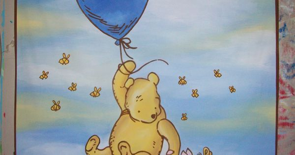 Baby Shower Banner Classic Winnie The Pooh Half Size