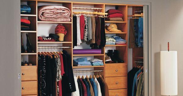 Far ends hanging space reach in closet california for California closets puerto rico