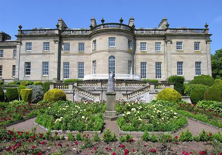 Manderston Duns Scotland The Supreme Country House Of Edwardian Scotland The Swansong Of Its Era With The Only Historic Homes Country House Stately Home