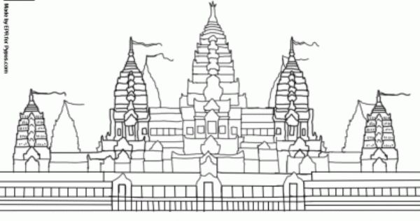 Cambodia Coloring Pages