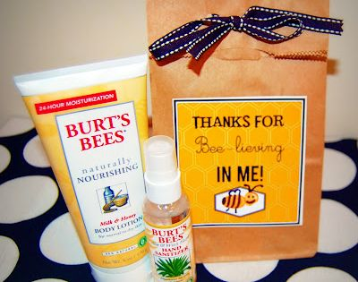 Burt's Bees Gift Set (Teacher Appreciation Gift Idea)