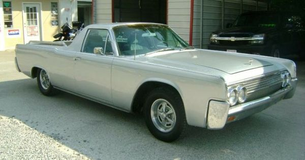 1962 Lincoln Custom-Built Pick-Up | Lincoln: The Car ...