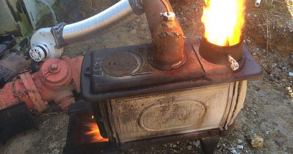 Waste Motor Oil Burner Test Burner Waste Motor Oil Drip