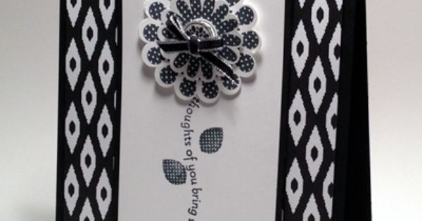 Polka dot pieces black and white is often a favorite combination for