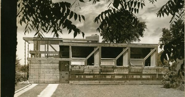 Frank Cole House Park Ridge Illinois 1939 Bruce Goff Frank Lloyd Wright Buildings Goffs House Styles