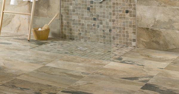 Serie bengal pavimento in gres porcellanato effetto pietra for Piastrelle bagno parquet