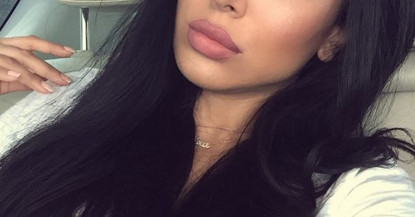 Neutral Cat Eye Makeup Rosey Lips Gorgeous Pinterest