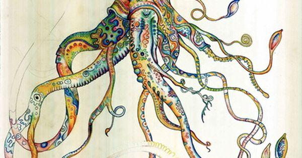 octopus. tattoo?