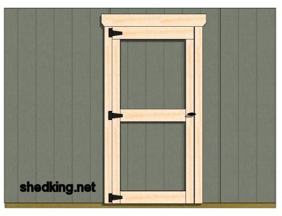 Single Shed Doors Shed Doors Shed Door Hardware Play Houses