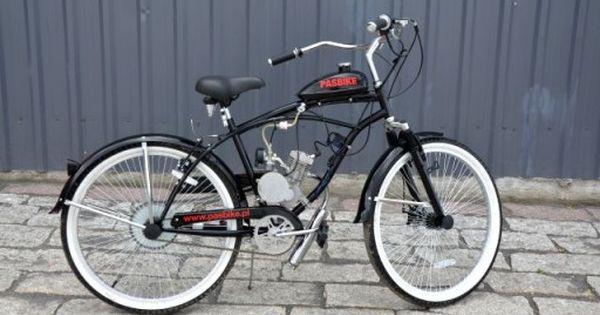 Rower Z Silnikiem Spalinowym Pasbike Nowy 6852218643 Oficjalne Archiwum Allegro Bicycle Woodworking