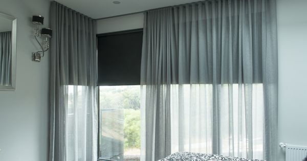 Sheer curtains roller blinds and rollers on pinterest