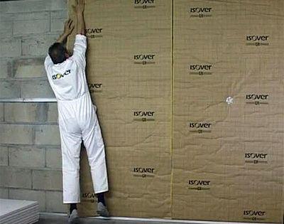 Isolation Interieure Des Murs Par Doublage Thermo Acoustique Isolation Interieure Isolation Plafond Isolation