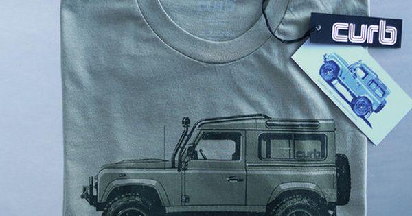 Curb Defender T Shirt Land Rover Land Rover Defender Defender