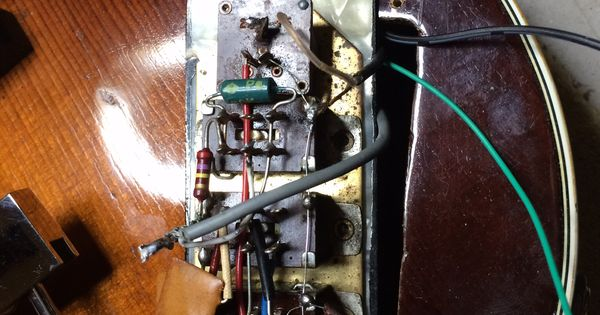 Hofner 500/1 wiring for control panel. The Bass Guitar