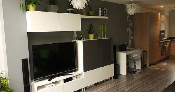 Besta Ideas from IKEA. I like the bamboo finish. Wonen Pinterest ...