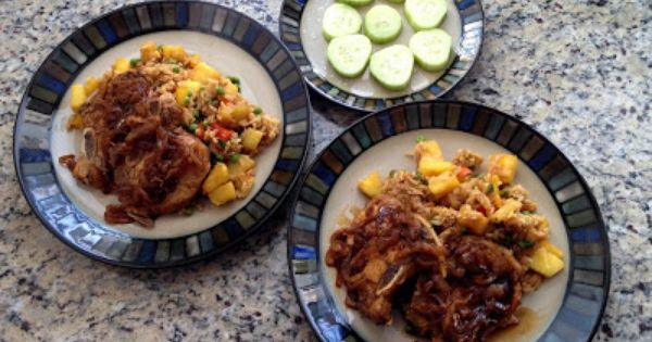 ... Stuffs | Pinterest | Pineapple Fried Rice, Fried Rice and Pork Chops