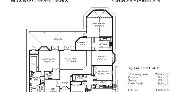 Daniel wayne homes islamorada model popular floor plans for Wayne homes floor plans