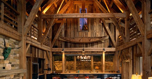 I'm huge fan of barn conversions and exposed wood. Gorgeous dream house