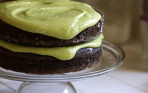 Vegan Chocolate Avocado Cake... best vegan chocolate cake you will ever eat!