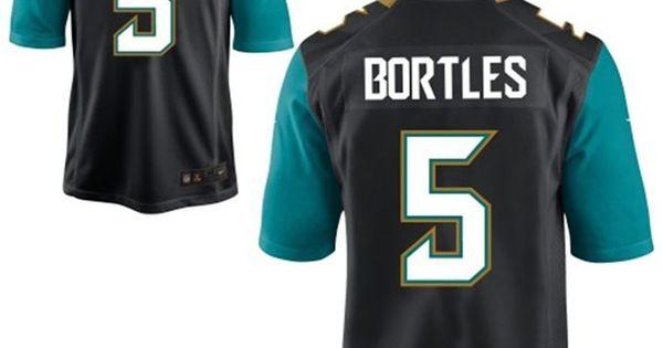 NFL Jersey's Women's Jacksonville Jaguars Blake Bortles Nike Black 20th Season Patch Game Jersey