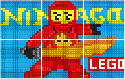 Lego Ninjago Mural Coloring Squared Free Cartoons Cartoon Coloring Pages Ninjago