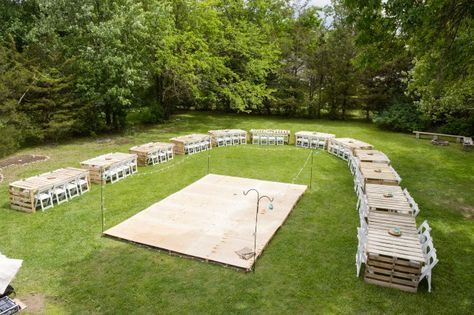 Wedding Backyard Reception Tent Dance Floors Ideas En 2020 Bodas En Patios Boda Con Pale Asientos De Boda