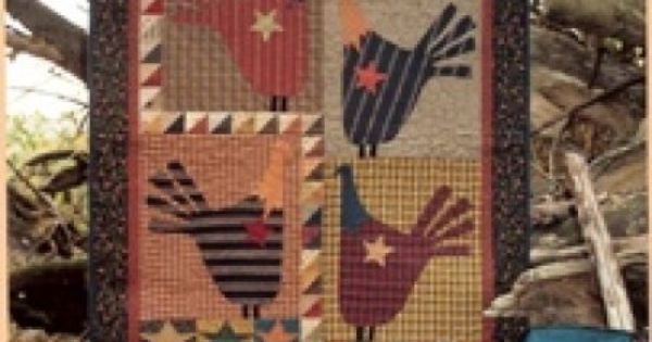 Country Threads Fall Quilt Patterns Wild Turkey Wall