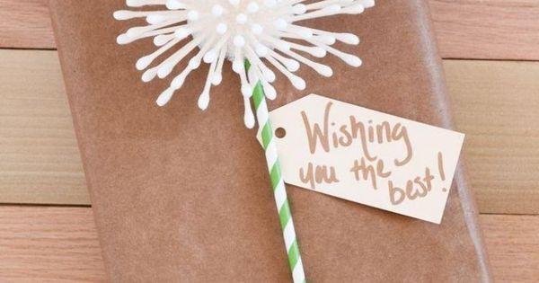 Ausgesprochen kreativ pusteblume aus wattest bchen - Pusteblume basteln ...