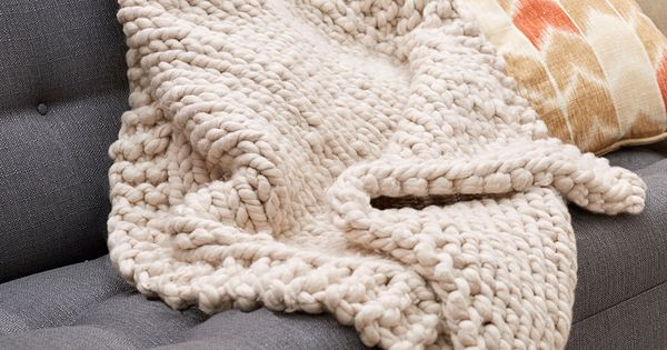 Big Stitch Knitting Patterns : Wonderful Big Stitch Throw Free Knitting Pattern in Red Heart Yarns - Knit th...