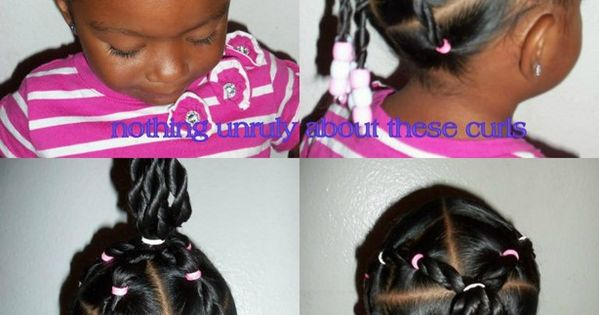 Little Black Girl Hairstyles | Easy Creative Natural Hairstyles
