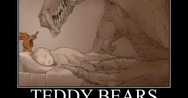 Teddy Bears - Protecting Innocent Children From Monsters Under The Bed Since