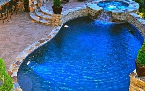 Dream Backyard: Pool, Hot Tub, and Fire Pit