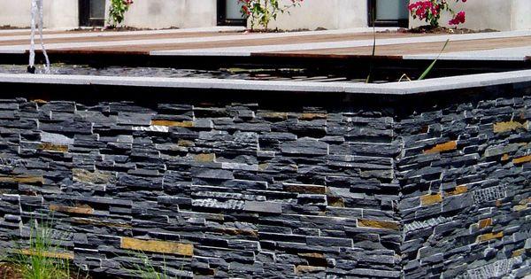 Quieres crear una original jardinera utiliza os paneles - Paneles de piedra natural ...