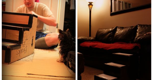 Dog Ramp Bed Plans