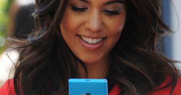 kourtney kardashian beautiful rich brown hair light
